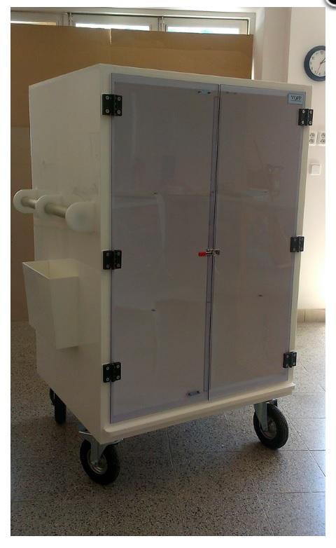 Laboratorní skříň na kolech VOPP