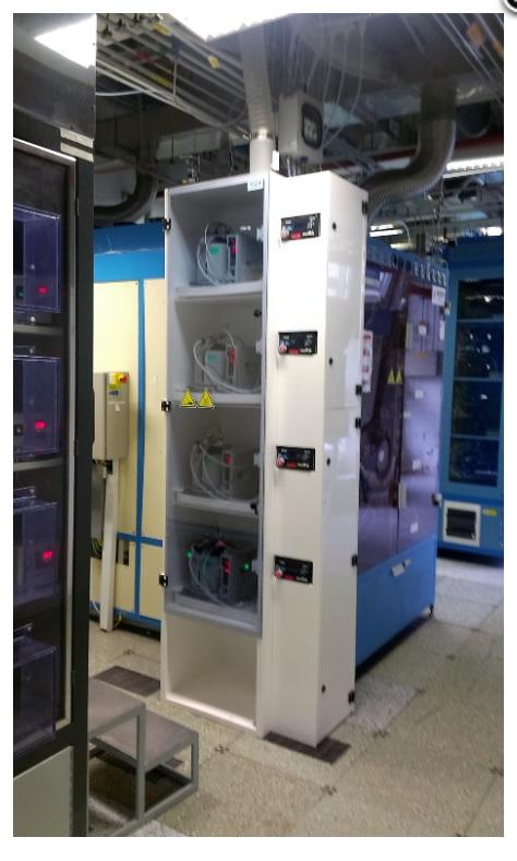 speciální zařízení VTS skříně určené k difusním pecím
