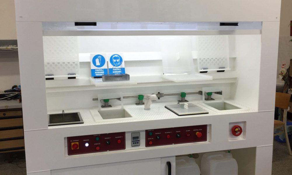 Mycí box s ultrazvukem